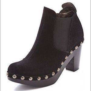 Pedro Garcia | Karen Chunky Studded Heel Booties
